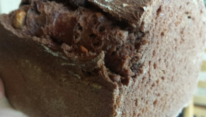 Cocoa and hazelnut Not-ella bread